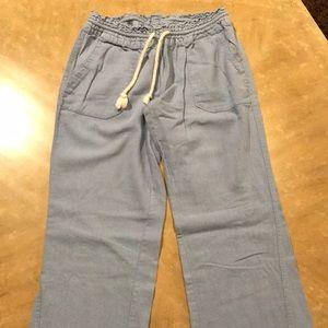 Blue comfy lake pants